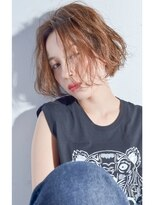 クリアーオブヘアー 栄南店(CLEAR of hair)【CLEAR】ウェットな無造作ウェーブボブ