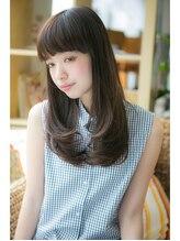 アンドシュガー 仙台宮城野区(& Sugar)艶感美髪でスタイリングが簡単☆暗めブラウン×ベージュカラー