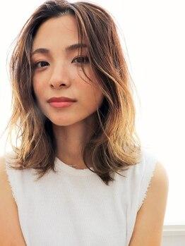 髪のエステ専門店 ヌーク(nuuk)の写真/カラーする度どんどん髪が綺麗になっていく…今よりも美髪に☆こんな夢のようなことが現実にあるんです♪