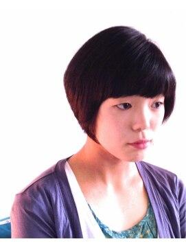 ヘアーカーブ(haircarve)haircarve秋冬・クラシカル・ショートボブ