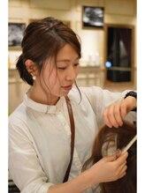 オーブ ヘアー リノ 京都2号店(AUBE hair lino)井上 明日香
