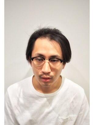 メンズ 30 髪型 代