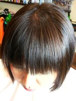 クロスロード(CROSS ROAD)の写真/髪を美しく健康に…【厚労省認可】の香草カラーで、綺麗な色を出しながらも髪質改善☆白髪が気になる人も◎