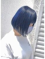 ドォート(Dote hair make)【林's】ブルーボブ