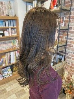 アートアンドヘアーデザイン ダイアリー(Art Hair design Diary)の写真/シーズンに合わせた最旬トレンドカラーを発信♪あなたのなりたい髪色が必ず見つかるはず♪