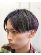 フリーダムデザイン(FreeDoM Design hair&nail)メンズセンターパートスタイル【代々木上原、渋谷】