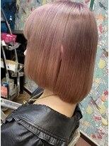 ロコマーケット 下北沢店(hair meke Deco.Tokyo)パープルピンクグラデーション