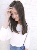 アンジェリカ ハラジュク(Angelica harajuku)【Angelica】 白石研太☆イルミナグレージュカラーセミロング