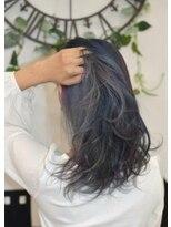 ヘアーサロン エール 原宿(hair salon ailes)(ailes 原宿)style410 ブルーグレージュ☆3Dカラー