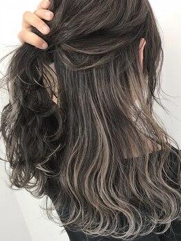 アローズ ラソラ札幌(HELLO'S)の写真/【透明感×深み】話題のイルミナカラー取扱い☆髪へのダメージも少なく、理想の色味も叶う♪