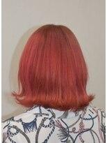ヘアーサロン エール 原宿(hair salon ailes)(ailes原宿)style369 外ハネ☆レッド