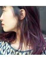 アルゴンキントウキョウ(THE ALGONQUIN TOKYO)pink.purpleでムラ染め♪
