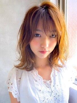 アグ ヘアー ピリカ 千歳店(Agu hair pirca)《Agu hair》軽さが決め手くびれミディ