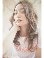 ルタ(LuTa by siesta&LiCO)liCO☆ wカラーベージュ セミロング TEL0422275282