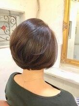 ヘアー サロン レフ(Hair Salon Rev)【20、30代人気☆】おさまり、簡単、エレガントボブ