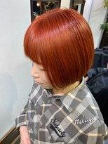 コレット ヘアー 大通(Colette hair)Orange color