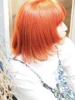 アルゴンキントウキョウ(THE ALGONQUIN TOKYO)オレンジ×個性派カット