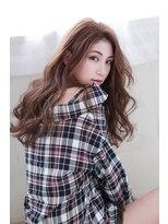 イロドリ ヘアーデザイン(IRODORI hair design)IRODORI センターパートで大人かわいいロング [西尾一寛]