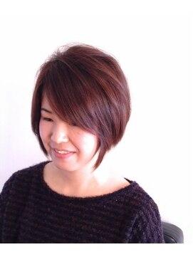 ヘアーカーブ(haircarve)haircarve★2014・メルティブラウンボブ