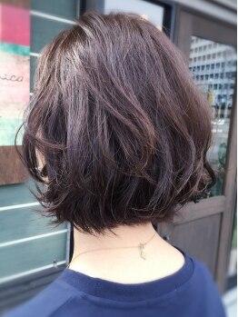 ヘアデザイン ベロニカ(hair design Belonica)の写真/《似合わせカット¥3024》おしゃれ感&扱いやすさのポイントは、絶妙な重軽バランスで創る再現性◎スタイル!