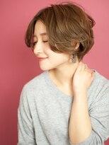 ベック ヘアサロン(BEKKU hair salon)ルーズなカールで洗練された大人ショートボブ☆