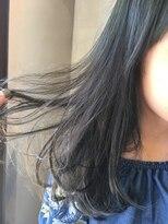 ニコ ヘアーアンドメイク(nico hair&make)blue透明感カラー