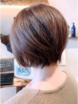 レイヘアービューティーサロン(LEI HAIR BEAUTY SALON)の写真/《白髪をぼかすorしっかり染める》全てOK◎大人女性に人気なLEIでファッションに合うカラーを手に入れる♪