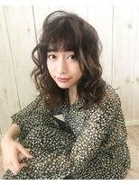ヘアー フレイス メイク(Hair Frais Make)フェザーロング×レトロウェーブ【フレイス横浜】