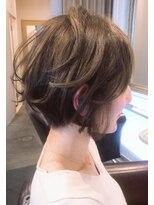 ボニークチュール(BONNY COUTURE)40代大人世代のショートボブ・くせ毛ショートボブ・ショートヘア