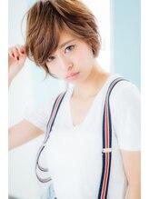 ヘアリゾートノア 銀座(hair resort Noah)【Noah銀座】☆☆欧米風パーマでルーズ感漂うショートヘア☆☆☆