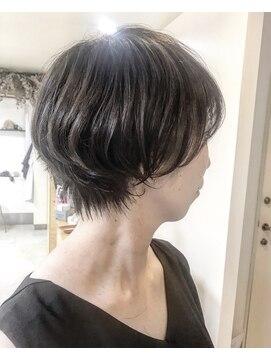 ヘアアンドメイクフリッシュ(HAIR&MAKE FRISCH)ミニショートボブ