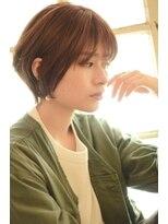 ベックヘアサロン 広尾店(BEKKU hair salon)大人かわいい束感前髪のショートボブヘア♪