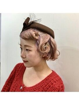 ヘアーメイクデザインパフ(HairMakeDesign Paf)クラッシックアレンジ