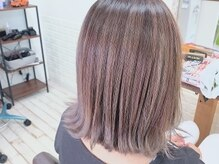 リアンフォーヘアー(Lien for hair)の雰囲気(ハイライト×切りっぱなしBOB♪)