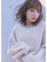 シキオ ヘアデザイン(SHIKIO HAIR DESIGN FUK)春髪ヌーディカラー