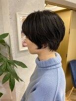 ロンドプランタン 恵比寿(Lond Printemps)【Lond佐野】大人かわいい黒髪前下がりボブアッシュブラウン