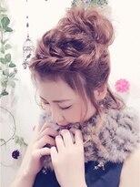 Hair Make Felice三宮☆ボブふわおだんご風