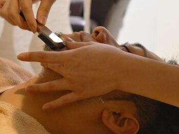 ルシード スタイル ルッツ(LUCIDO STYLE RUTTU)の写真/大人の男性が注目☆プロのメンズシェービングで触り心地ツルツル肌に![シェービング][志木]