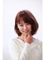 ティースタイル(hair salon t-style)【t-style】ピンクが似合う春のボブスタイル
