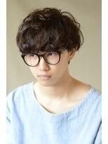 ヘアーメイクミキ 上野本店(hair make MIKI)メンズマッシュパーマ