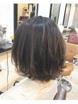 エトネ ヘアーサロン 仙台駅前(eTONe hair salon)【30代にオススメ】肩上のレイヤーボブ