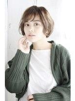 シュシュット(chouchoute)小顔セミウェットウェーブハイライトカラー美髪オリーブカラー36