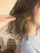 ケーオーエスビューティー(K O S beauty)グレージュカラー
