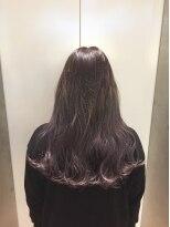 ヘアサロン ドット トウキョウ カラー 町田店(hair salon dot. tokyo color)【Perl lavender】ブリーチグラデーションカラーリスト田中