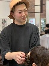 エニーハウ 川口駅東口(Hair & Make anyhow)池田 達也