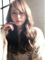 表参道 デジタルパーマ グレージュカラー ロングヘア 栗原/21