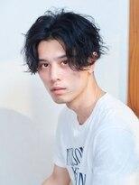 オーブ ヘアー フェアリー 鹿児島店(AUBE HAIR fairy)【AUBE HAIR】センターパート×パーマ