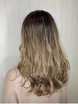 ソース ヘアアトリエ 梅田(Source hair atelier)【SOURCE】ミルクティーベージュ