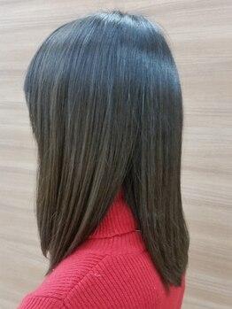 オレンジポップ 豊洲店の写真/[豊洲駅徒歩3分]カラーやパーマと同時施術で驚きの仕上がりに!艶と潤いの美髪へ♪
