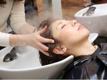 アビーヘアー 西大島店(abie hair)の写真/オーガニック認証スパで、大人目線のお悩み改善提案!身も心も美しく...♪